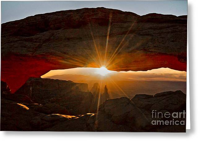 Greeting Card featuring the photograph New Day by Mae Wertz