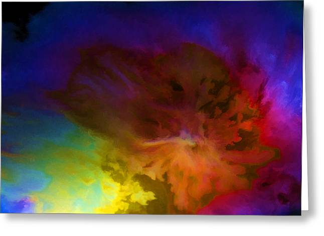 Greeting Card featuring the painting New Day by Steven Richardson