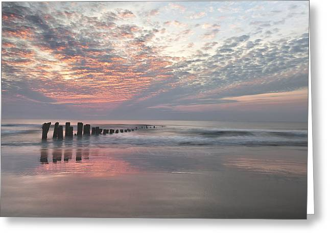 Greeting Card featuring the photograph New Day Sunrise Sunset Image Art by Jo Ann Tomaselli