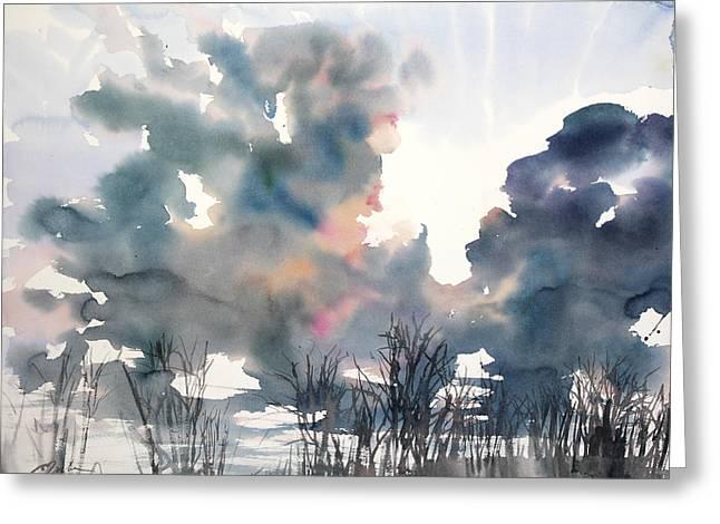 New England No.197 Greeting Card by Sumiyo Toribe