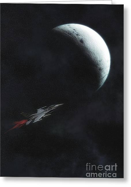 New Frontiers Greeting Card by Tom York Images
