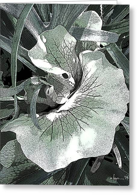Greeting Card featuring the photograph New Growth On The Staghorn by Angela Treat Lyon