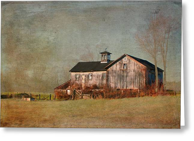 New Hampshire Barn  Greeting Card