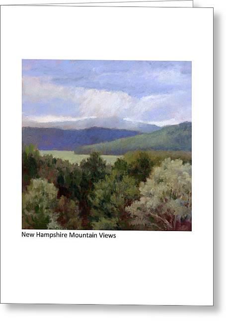 New Hampshire Mountain Views Greeting Card