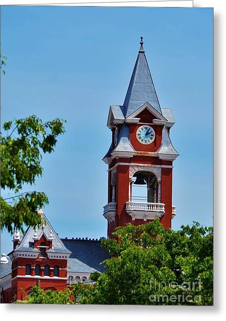 New Hanover County Courthouse Bell Tower Greeting Card