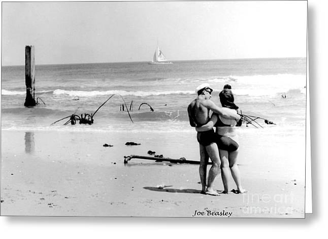 New Jersey Shore  1964 Greeting Card by   Joe Beasley