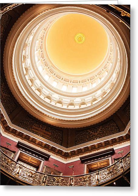 New Jersey Statehouse Dome Greeting Card