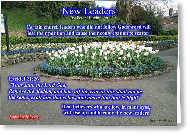 New Leaders Greeting Card