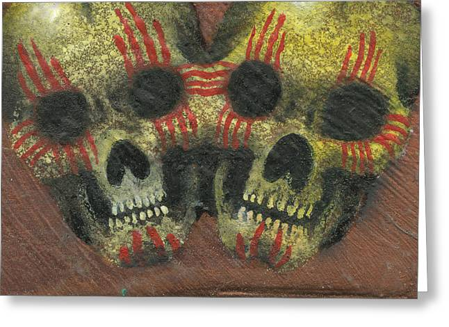 New Mexicans Greeting Card by KD Neeley