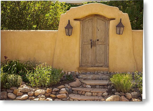 New Mexico Facade # 1 Greeting Card