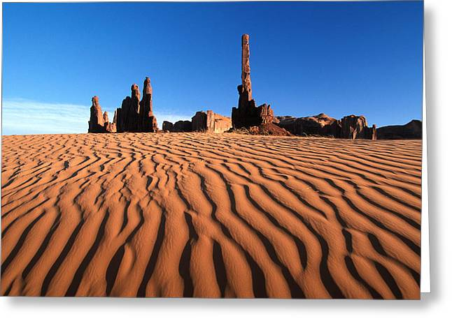 New Mexico Monument Valley  Greeting Card by Anonymous