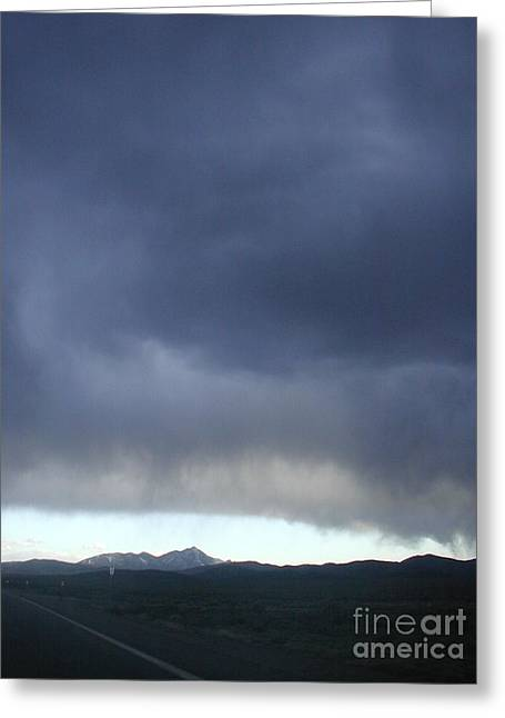 New Mexico Storm Greeting Card by James T