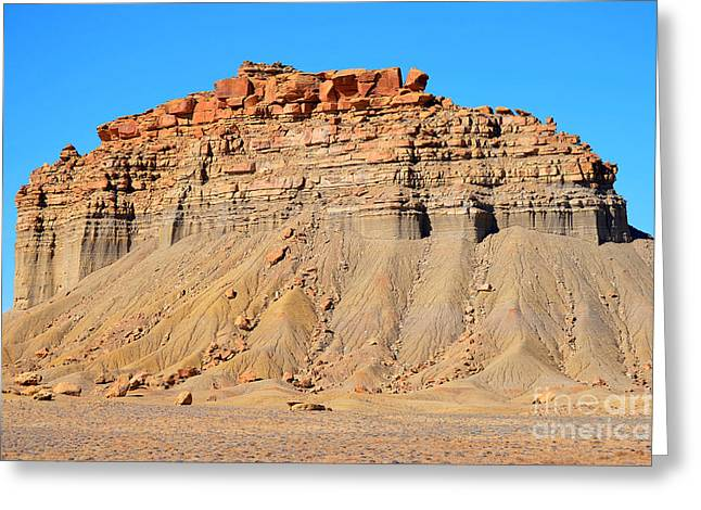 New Mexico Topography Greeting Card