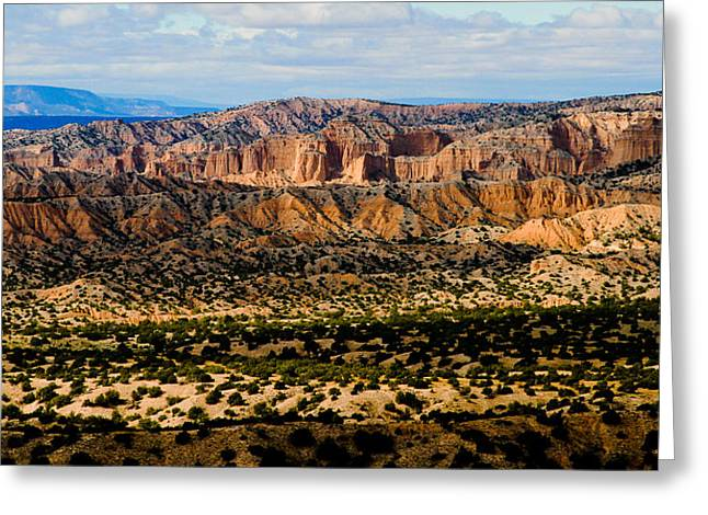 Greeting Card featuring the photograph New Mexico View by Atom Crawford