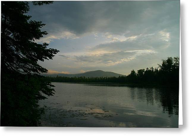 New Morning On Lake Umbagog  Greeting Card by Neal Eslinger