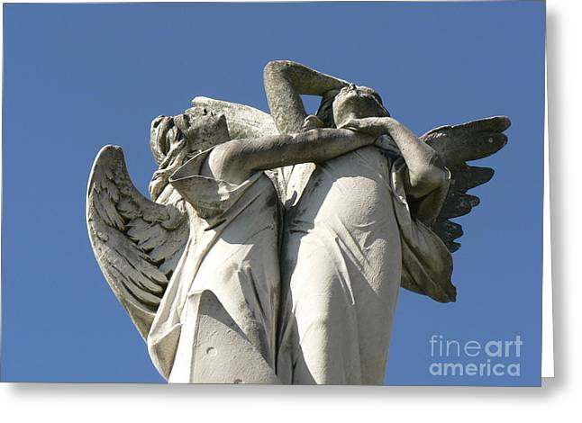 Greeting Card featuring the photograph New Olreans Angel 6 by Elizabeth Fontaine-Barr