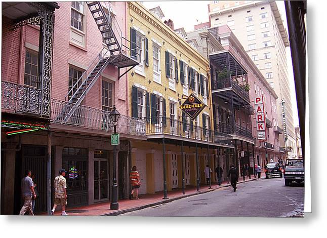 New Orleans 3 Greeting Card