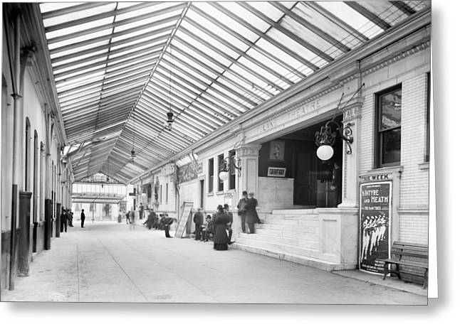New Orleans Arcade, C1906 Greeting Card by Granger
