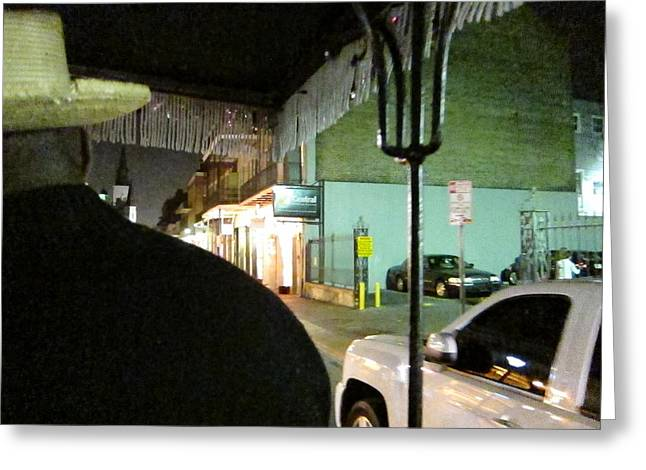 New Orleans - City At Night - 121214 Greeting Card