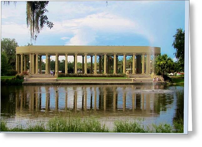 New Orleans City Park - Peristyle Greeting Card