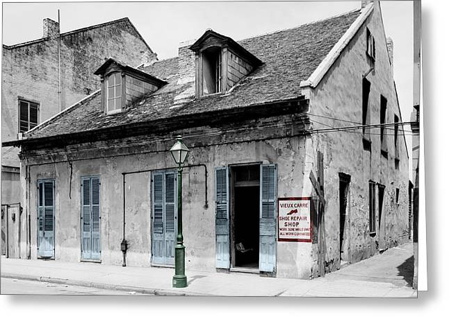 New Orleans Cobbler Greeting Card