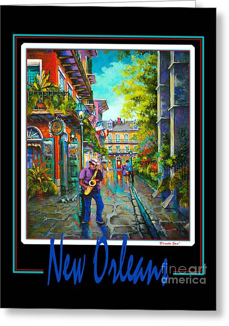 New Orleans Greeting Card by Dianne Parks