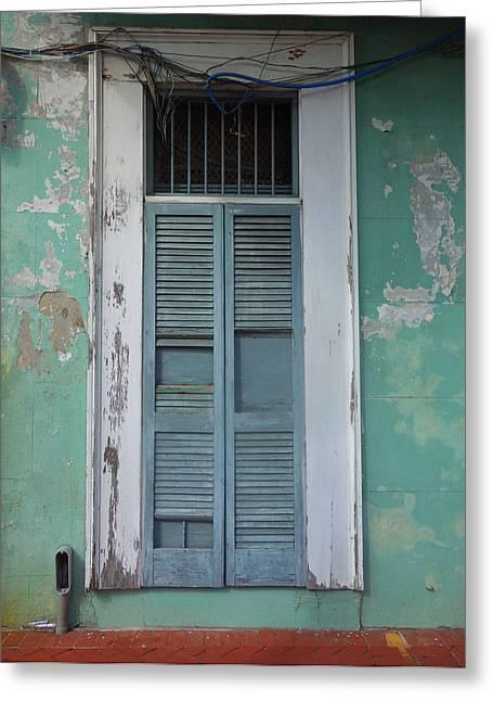 New Orleans Door Greeting Card