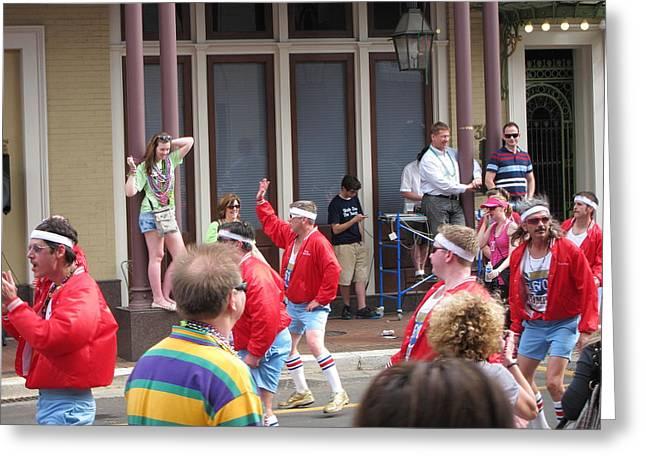 New Orleans - Mardi Gras Parades - 1212110 Greeting Card