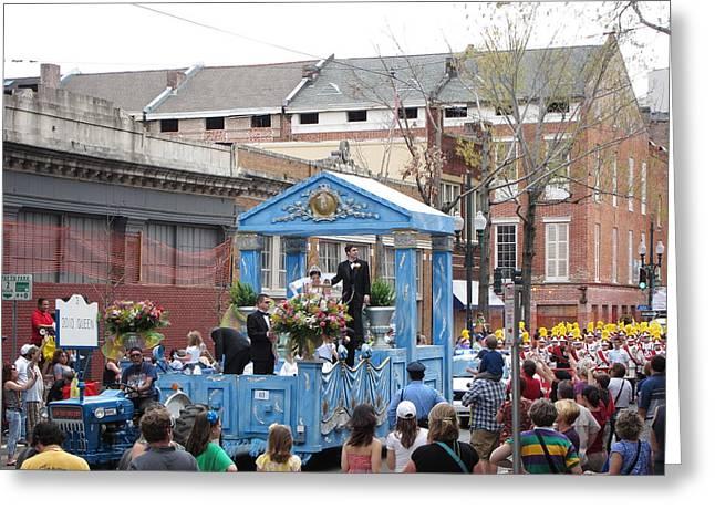 New Orleans - Mardi Gras Parades - 121270 Greeting Card