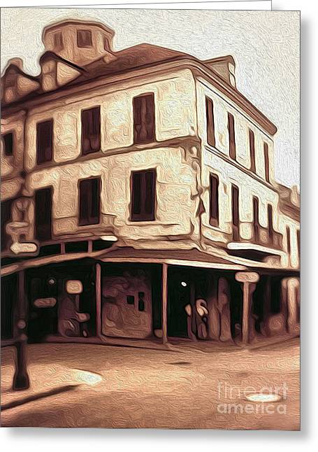 New Orleans - Old Absinthe Bar Greeting Card by Gregory Dyer