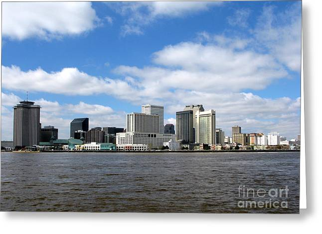 New Orleans Greeting Card by Olivier Le Queinec