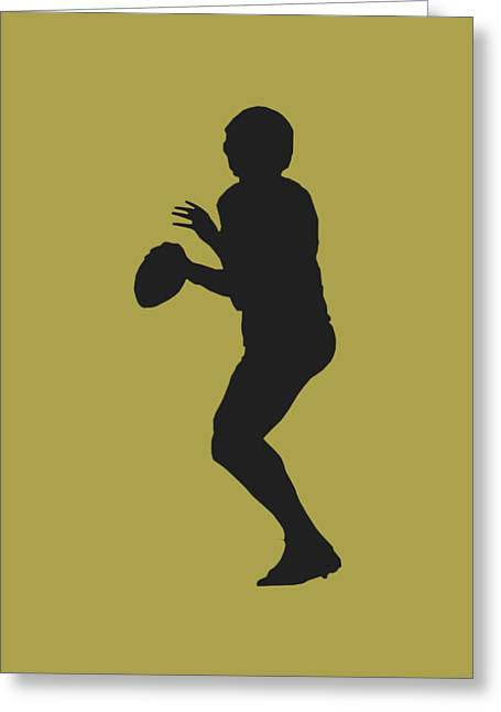 New Orleans Saints Drew Brees Greeting Card by Joe Hamilton