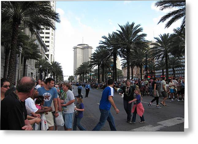 New Orleans - Seen On The Streets - 121220 Greeting Card by DC Photographer