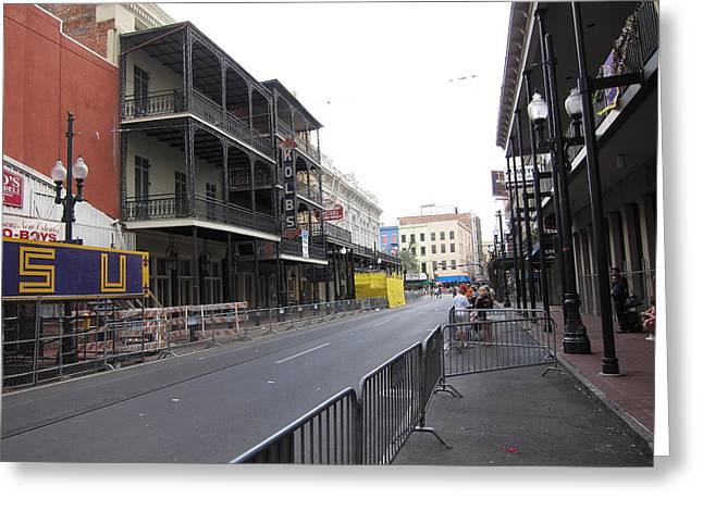 New Orleans - Seen On The Streets - 121237 Greeting Card by DC Photographer