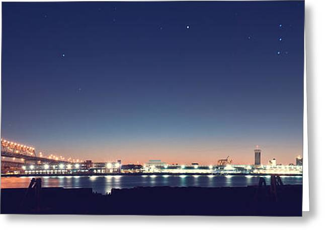 New Orleans Skyscape Greeting Card