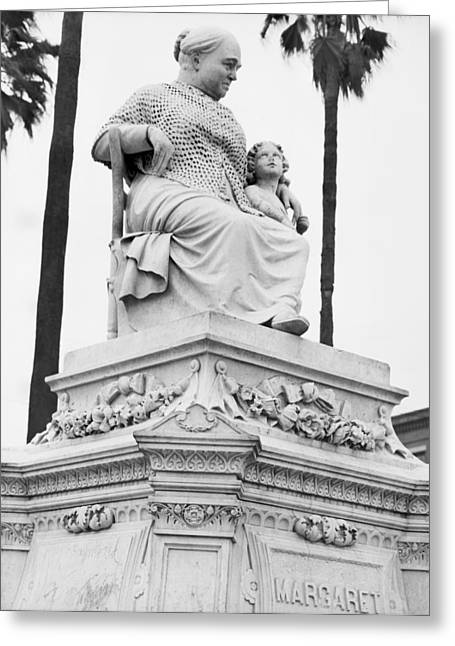 New Orleans Statue Greeting Card