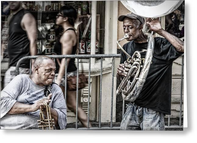 New Orleans Street Jam Greeting Card