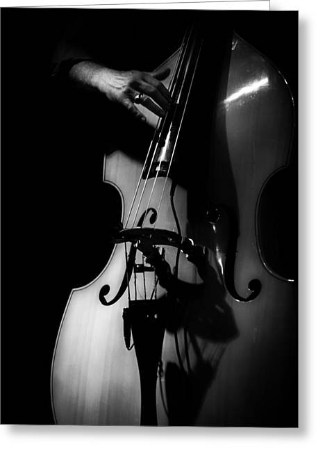 New Orleans Strings Greeting Card by Brenda Bryant