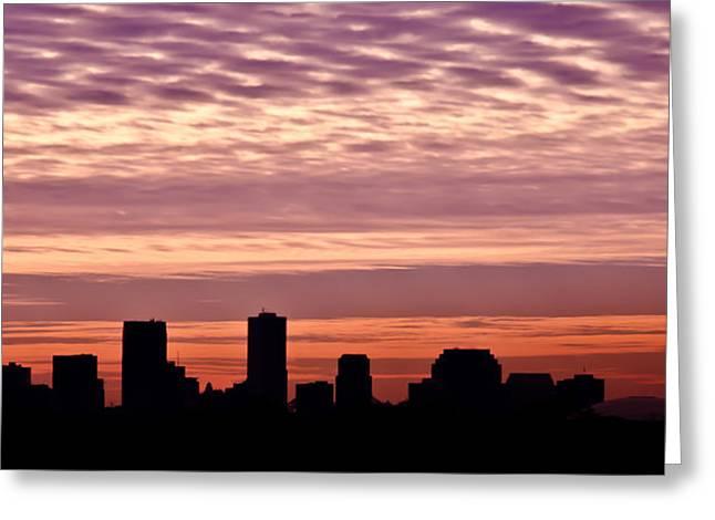 New Orleans Sunrise Greeting Card by Renee Barnes