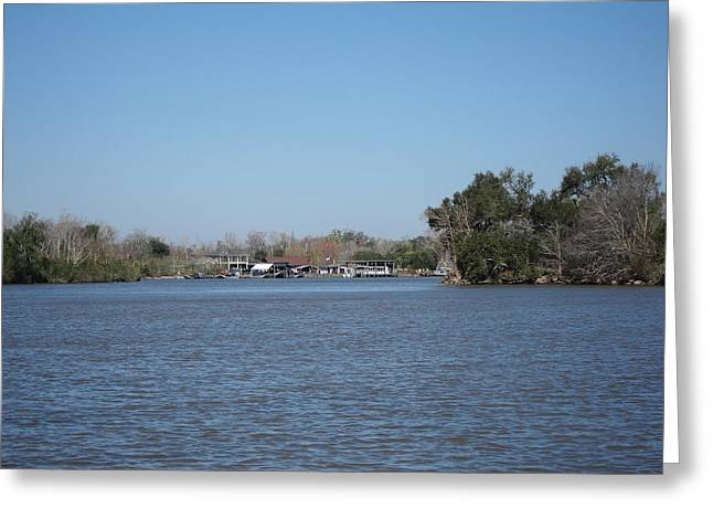 New Orleans - Swamp Boat Ride - 121224 Greeting Card by DC Photographer