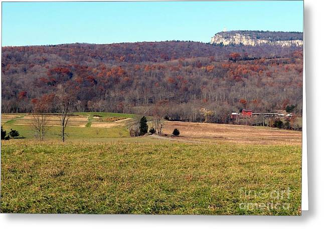 New Paltz Beauty Greeting Card by Ed Weidman