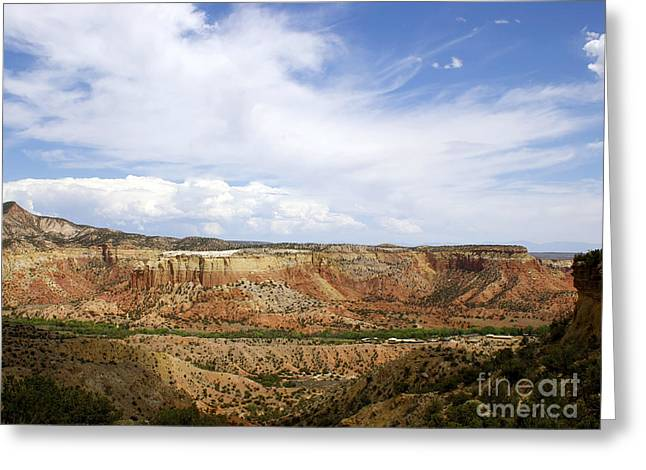 New Photographic Art Print For Sale Ghost Ranch New Mexico Greeting Card