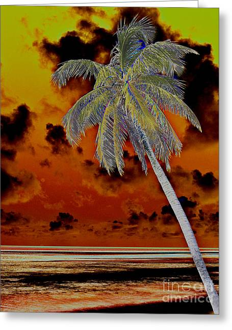 New Photographic Art Print For Sale Paradise Somewhere In The Bahamaramas Greeting Card