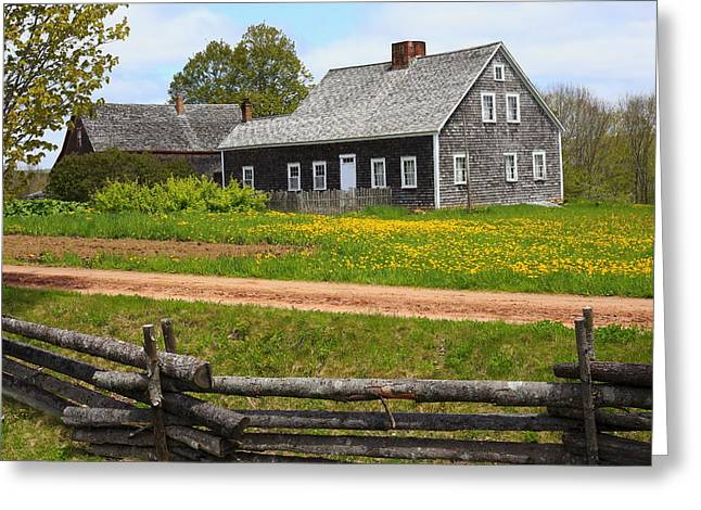 New Ross Farm Museum Greeting Card