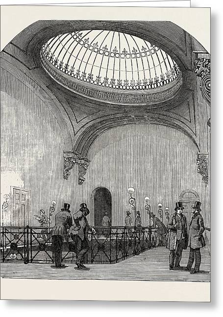 New Station Of The London And North-western Railway Greeting Card