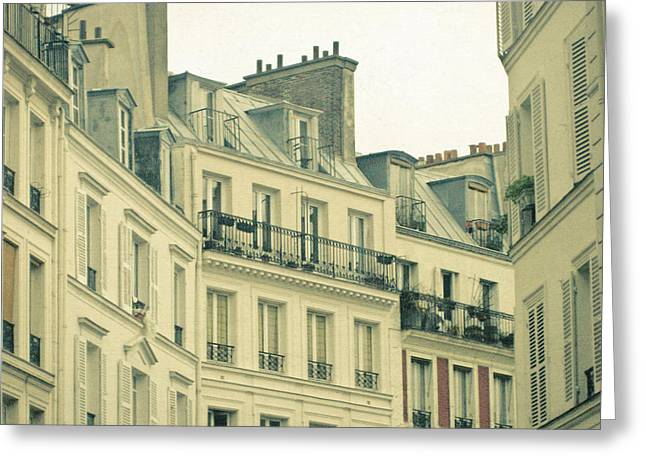 New Year In Paris Greeting Card