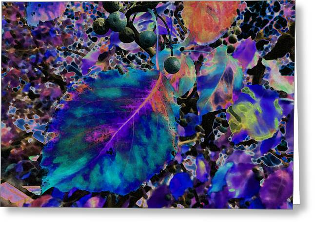 New Years Eve 2013 V6 Greeting Card by Kenneth James