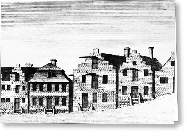 New York Albany, 1791 Greeting Card by Granger