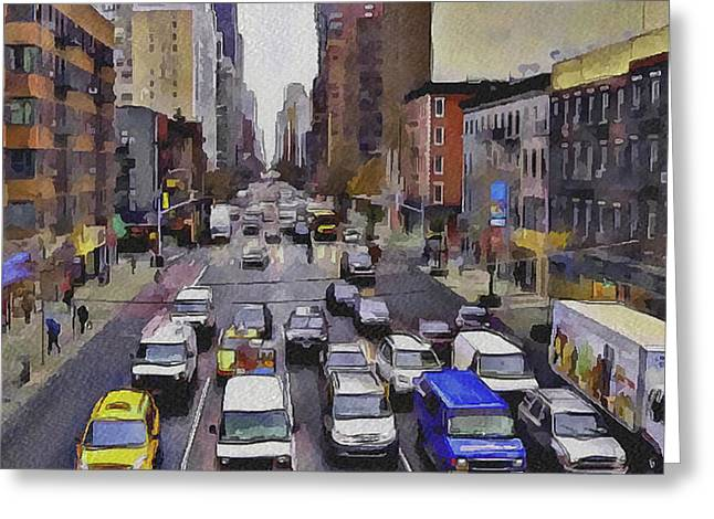 New York City 23 Greeting Card