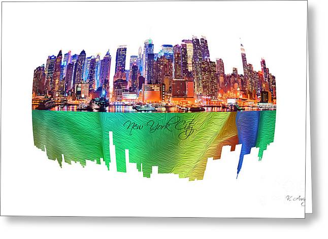 New York City Art Collection No. 200 Greeting Card